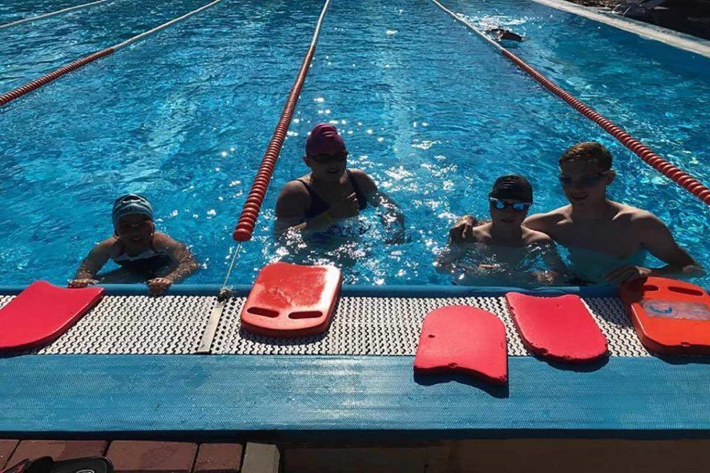 Kołobrzeg - nauka pływania